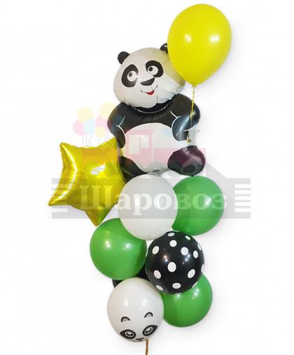 """Букет из шаров """"Панда"""""""
