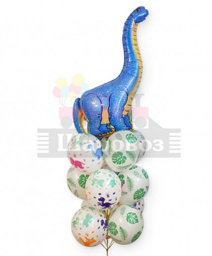 """Букет из шаров """"Динозавр"""""""