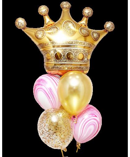 """Букет из шаров """"Корона"""""""