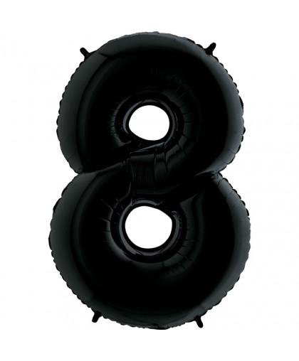 Цифра 8 Черная