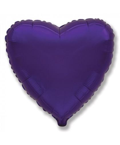 Сердце (фиолетовое)