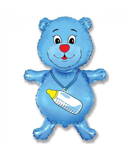 Медвежонок (голубой)