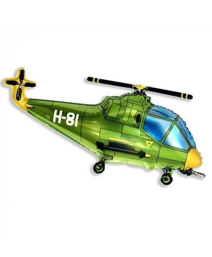 Вертолет (зеленый)