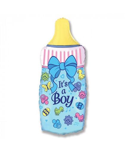 Бутылочка для мальчика (голубая)