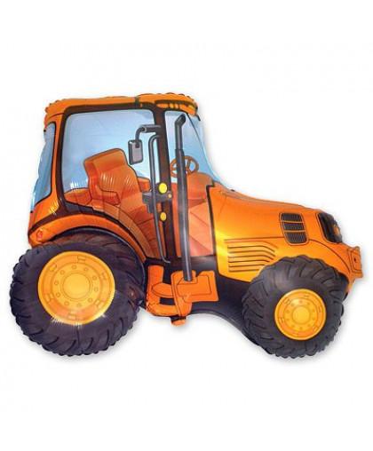 Трактор (оранжевый)