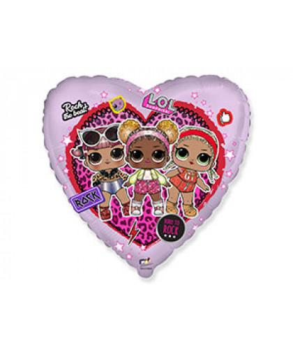 Куклы ЛОЛ в сердце