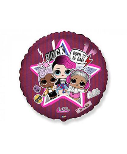 Круг куклы LOL диско