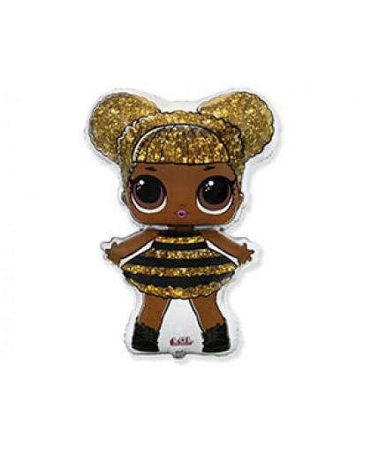 Шар фигура Кукла ЛОЛ Queen Bee
