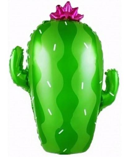 Шар фигура Кактус зеленый (74 см)