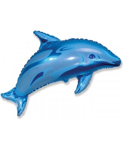 Дельфин (синий)