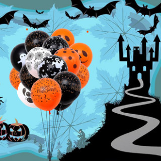 Шары на хэллоуин