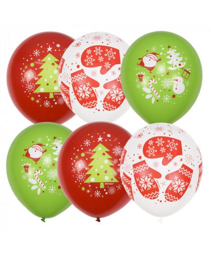 Воздушные шары С Новым годом