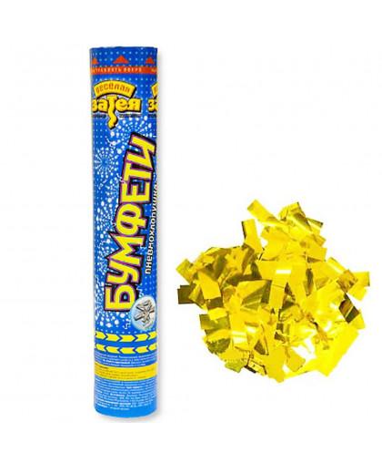 Хлопушка конфетти золото
